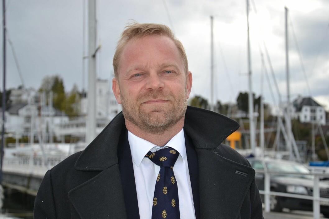 FORTSETTER: Anders Kristensen går likevel løs på en ny periode som generalsekretær i KNS.