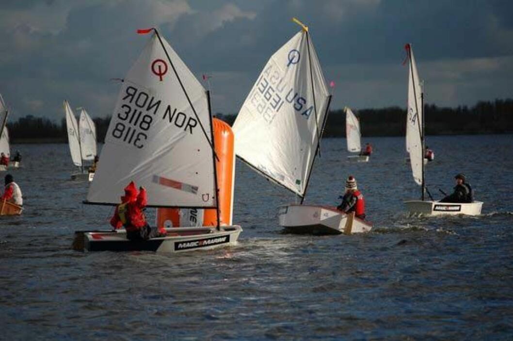 Norske seilere trivdes i Nederlands kulde