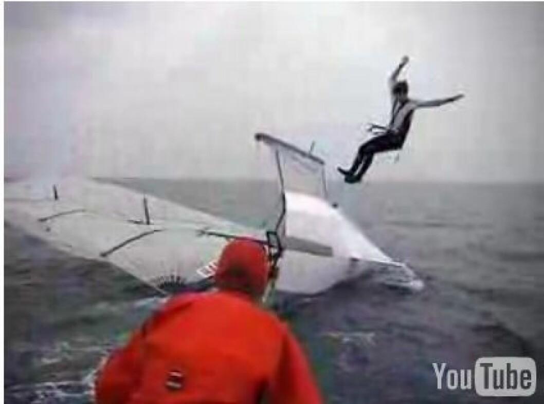 Ingen 49er seiling på Palma igår