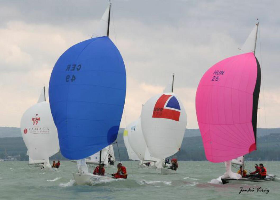 Ungarsk mester, norsk 4. plass i Solingenes EM