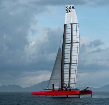 DANSK: Danmark blir det syvende laget i SailGP.