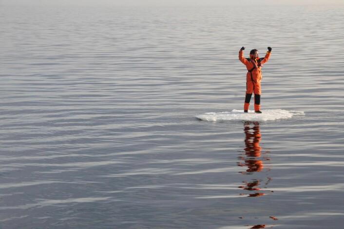 VINTER: Liten sjanse for å møte is i årest vinterseilas.