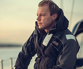SKIPPER: 41 år gamle Anders Onsdager har bakgrunn fra marinen.