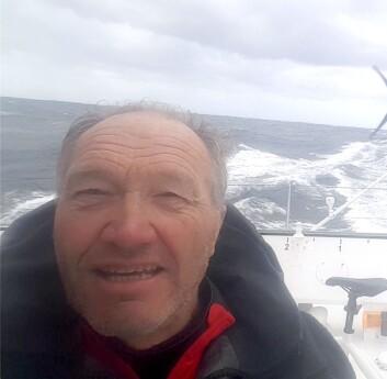 SKIPPER: Francis Joyon er i ferd med å sette en ny rekord.