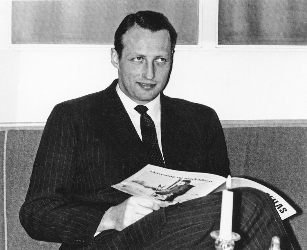 Kronprins Harald, NSFs første formann
