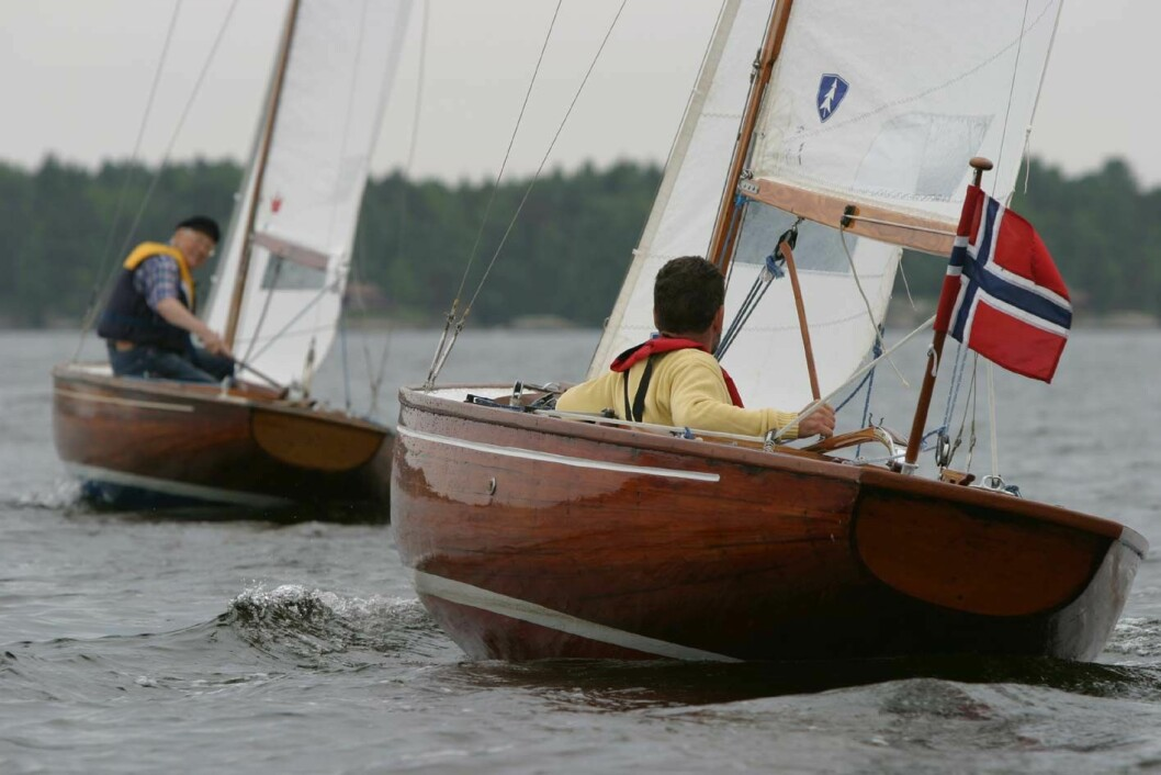 BB11 i lagseilas på sørlandet