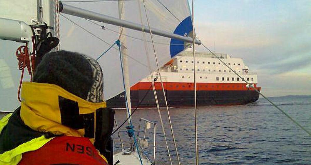 Hurtigruta som startbåt