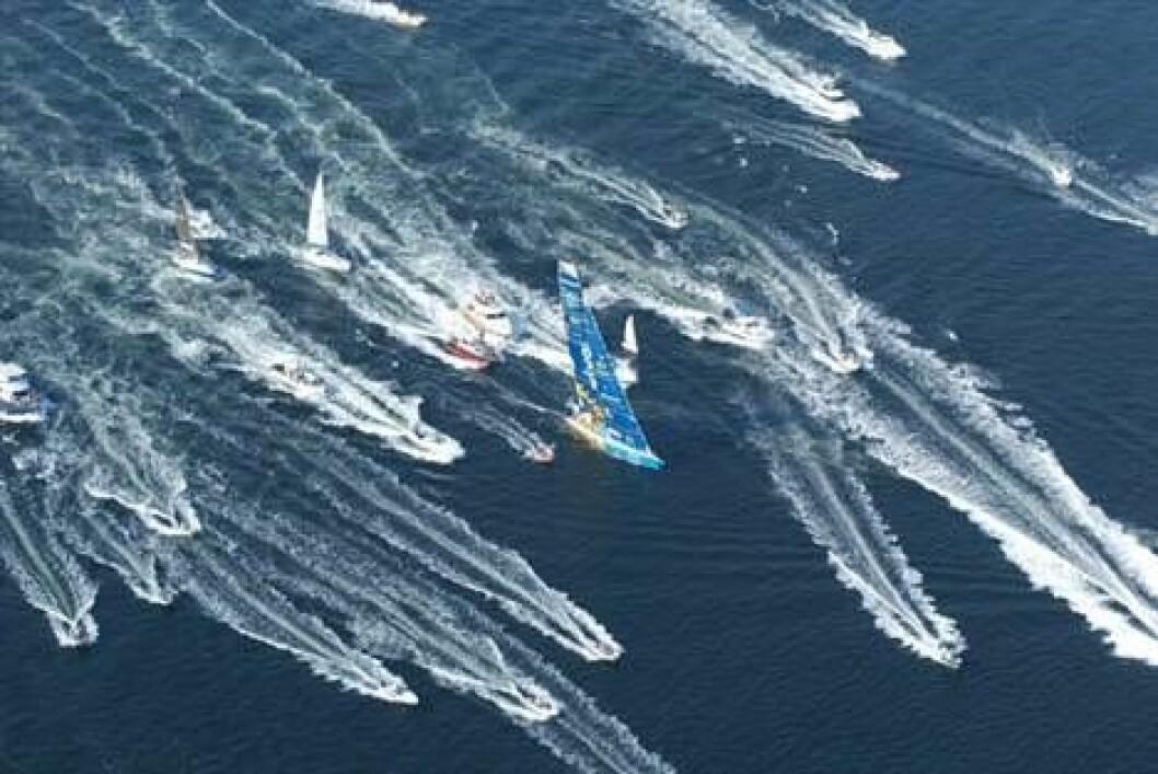 Brasil 1 vil med i Volvo Ocean Race