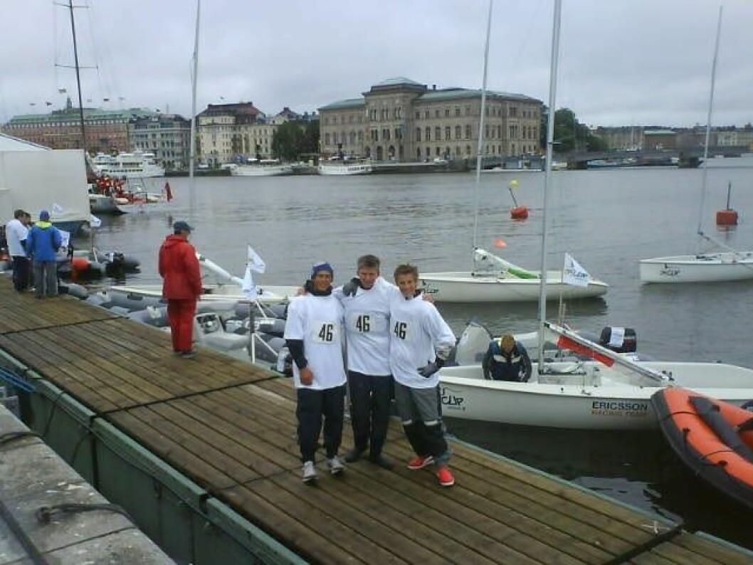 Norske E-jolleseilere videre til semfinalen i Ericsson Jr. Cup