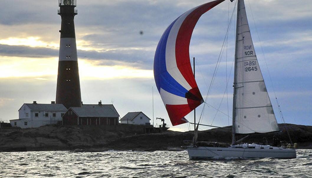 ANNERLEDES: Båtene vil fremdeles se Færder Fyr, men i et annet format.