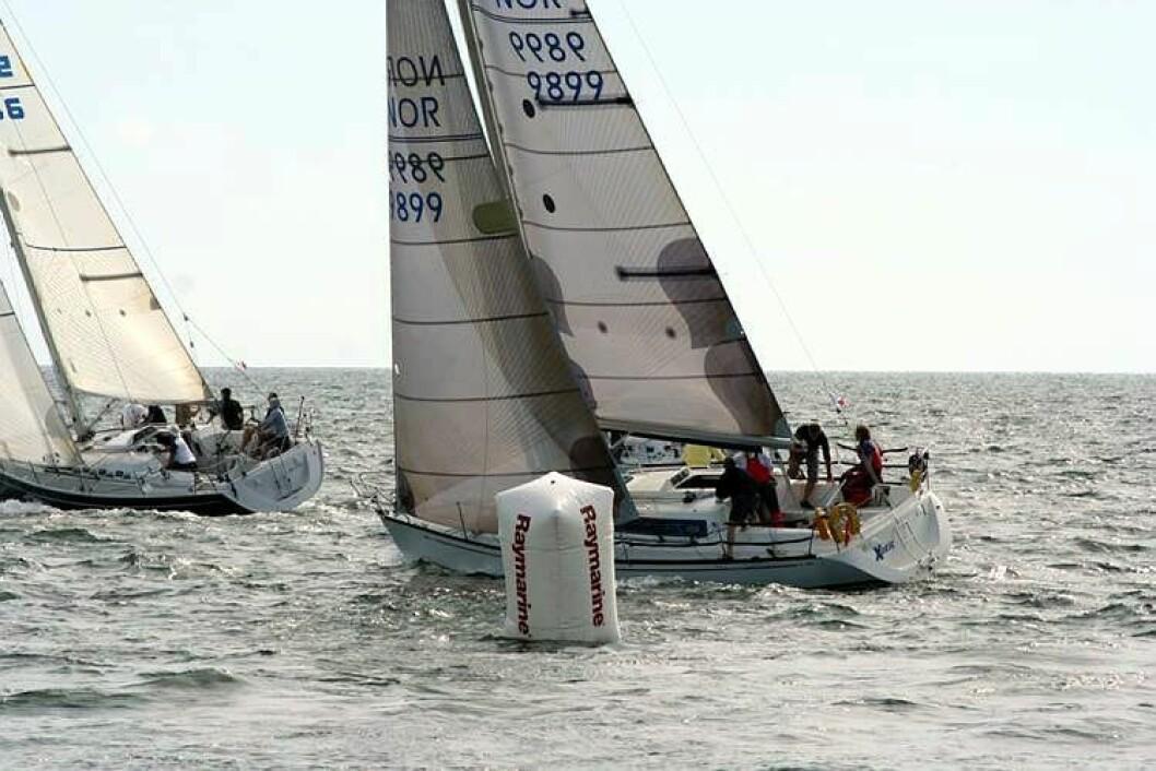 Storsamling under Moss Raymarine Race