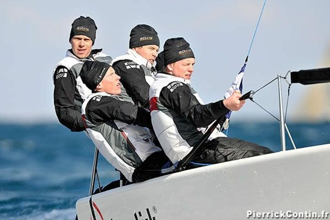 Flott seiling av Jahre & Co i Melges EM