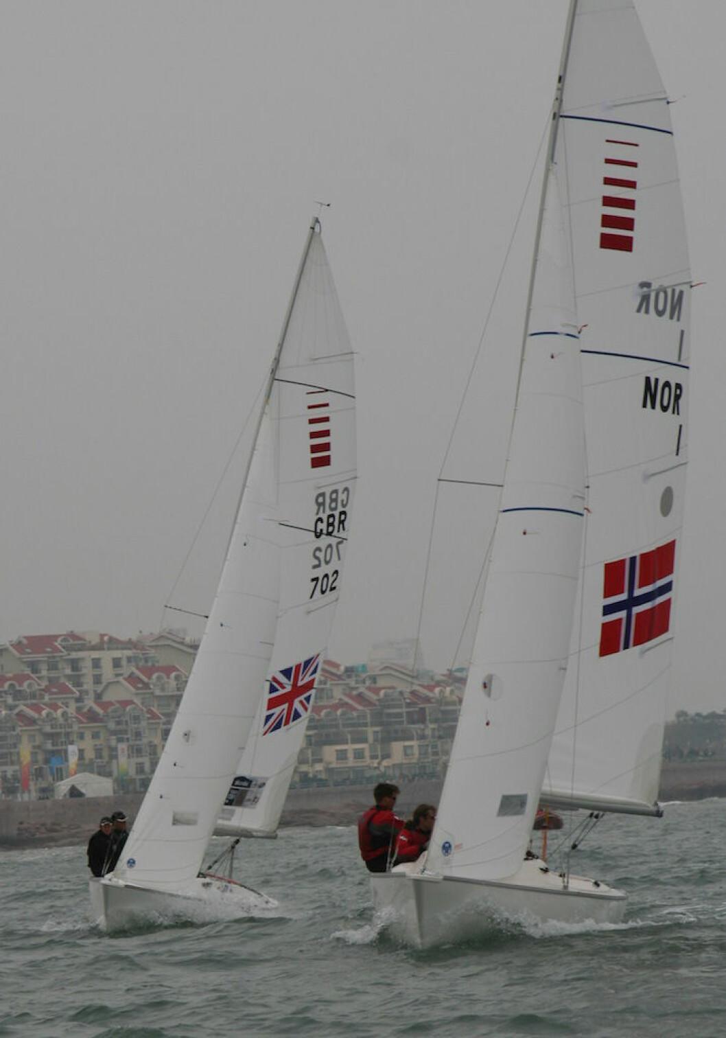 Sonaren sto for beste norske resultat i Weymouth