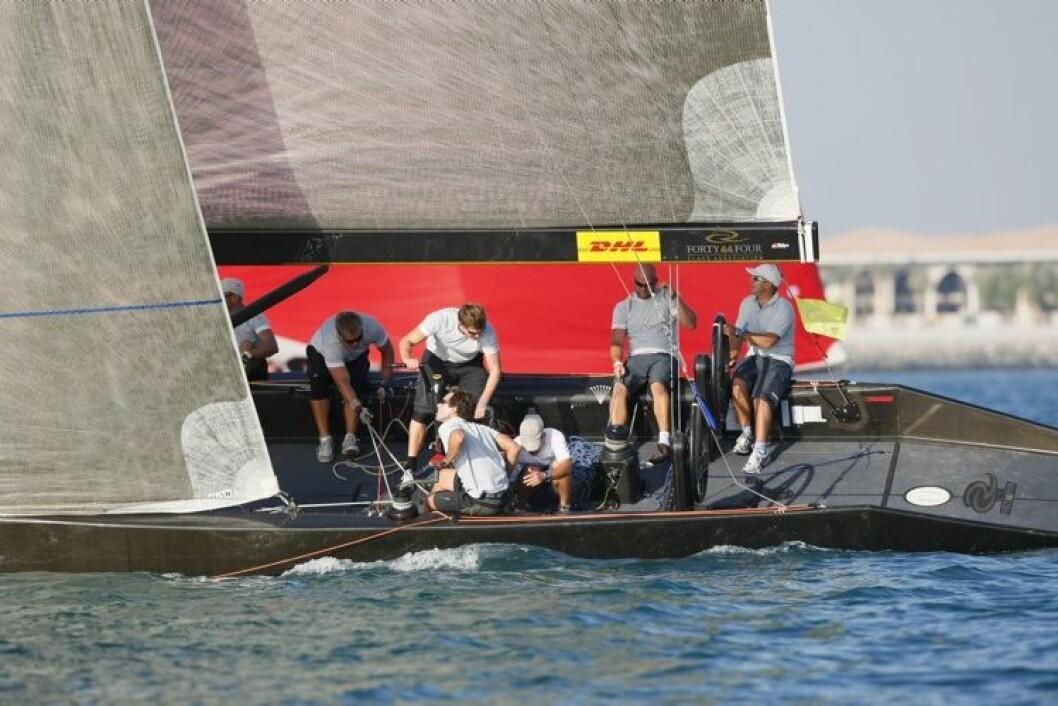 Bra dag for Berthelsens båt i Dubai