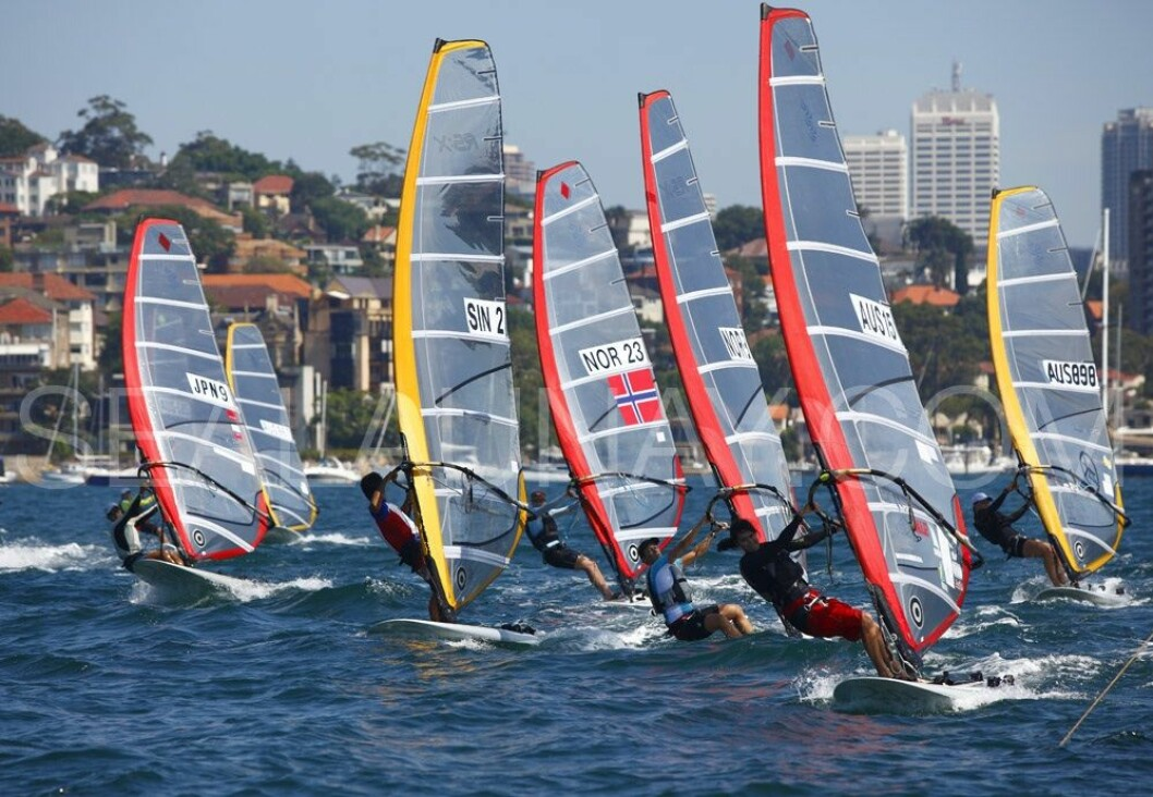 Day 3 of the Sail Sydney 2009 regatta, RS:X Olympic class.Held annually Sail Sydney take place from the 5-8 December 2009 on the magnificent Sydney Harbour as part of the Sail Down Under series, incorporating Sail Brisbane, Sail Sydney and Sail ...