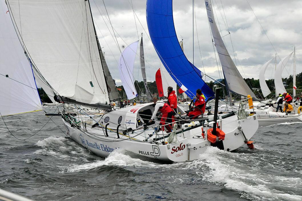 Rune Aasberg i Sydney Hobart Race