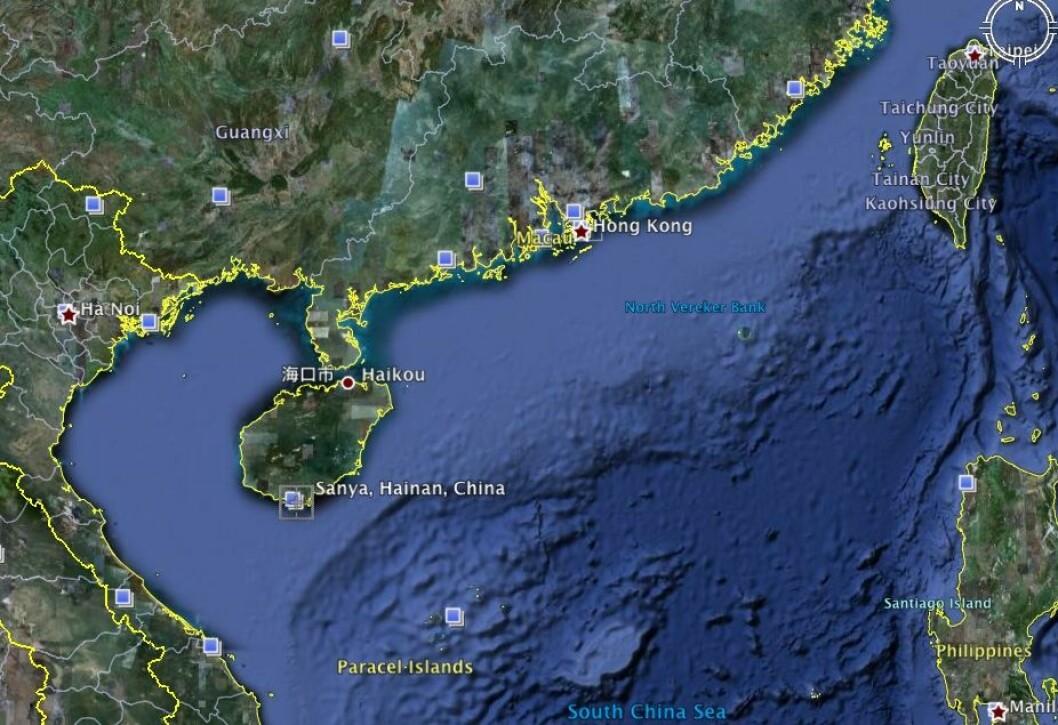 Volvo Ocean Race til Kina
