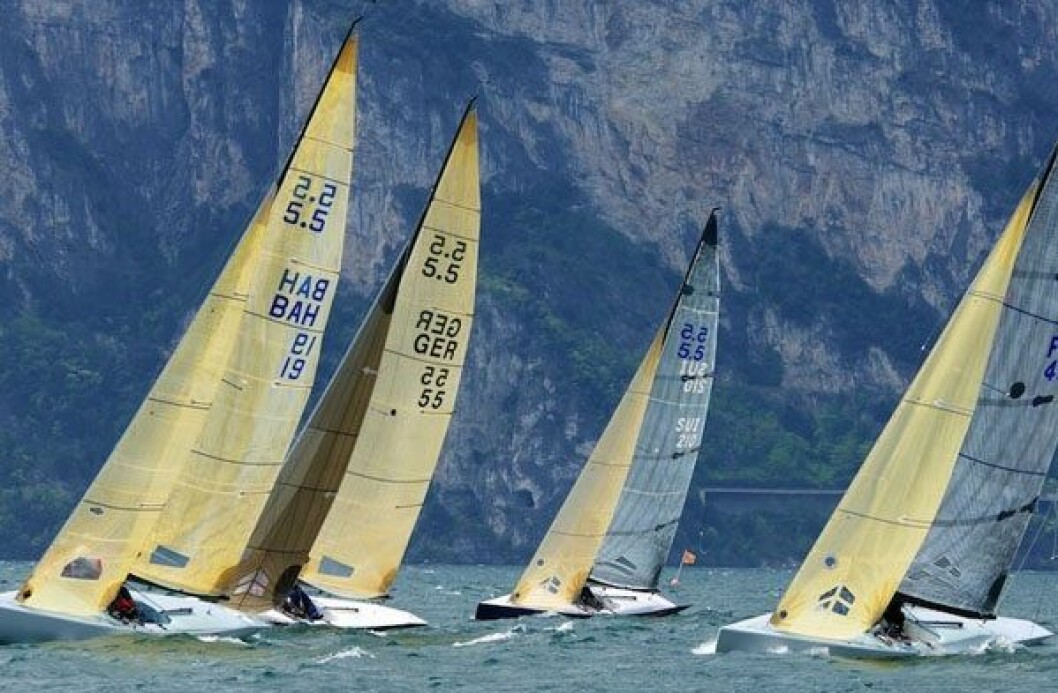 Fjeld tok 6.plass i Alpen Cup for 5.5 metere