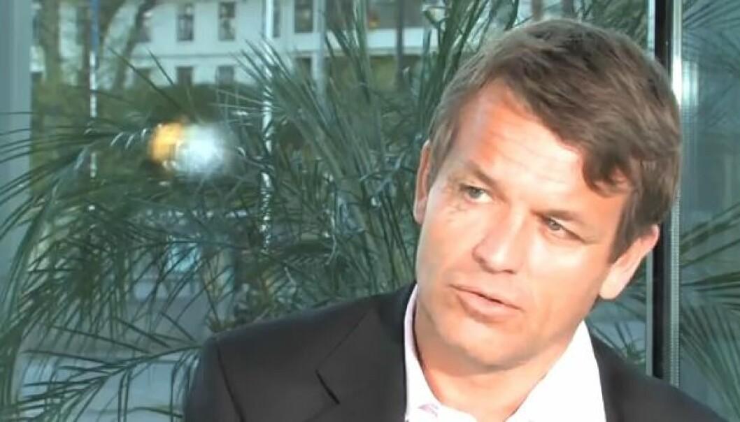 Knut Frostad er optimist på seilsportens vegne