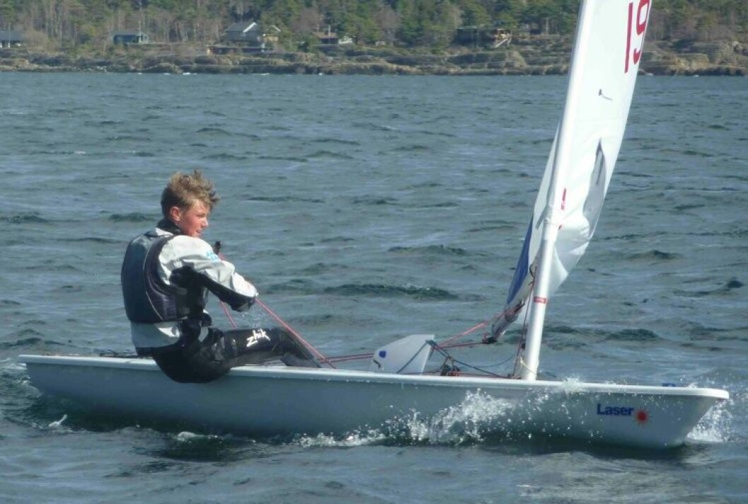 Norske juniorer høyt rangert i Laserklassen