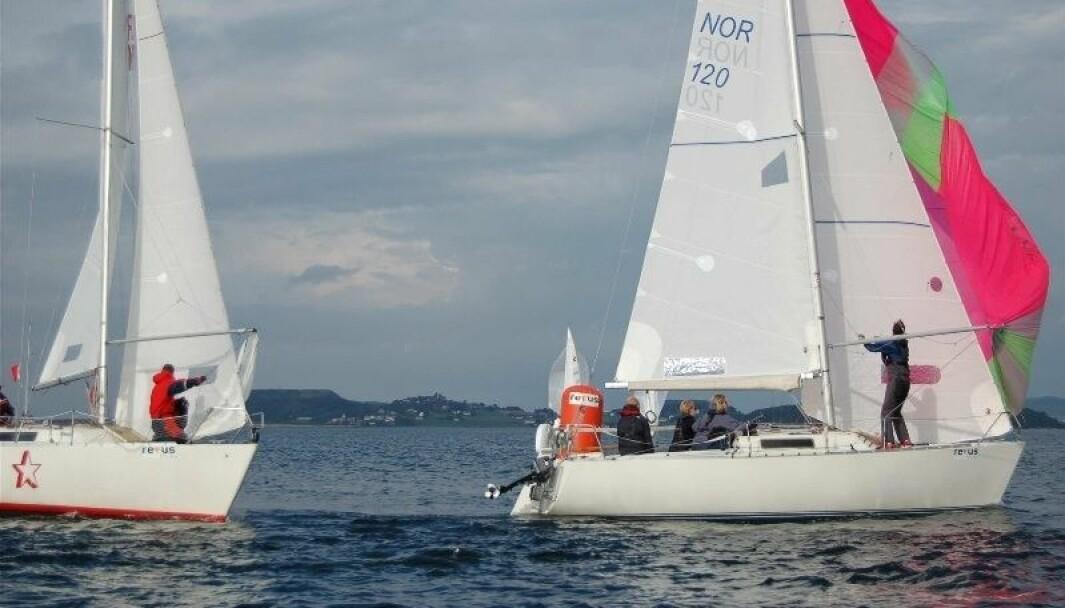 NM SHORTHANDED: Det ser ut til å bli flest Experesser i Sportsbåtklassen i norgesmesterskapet.