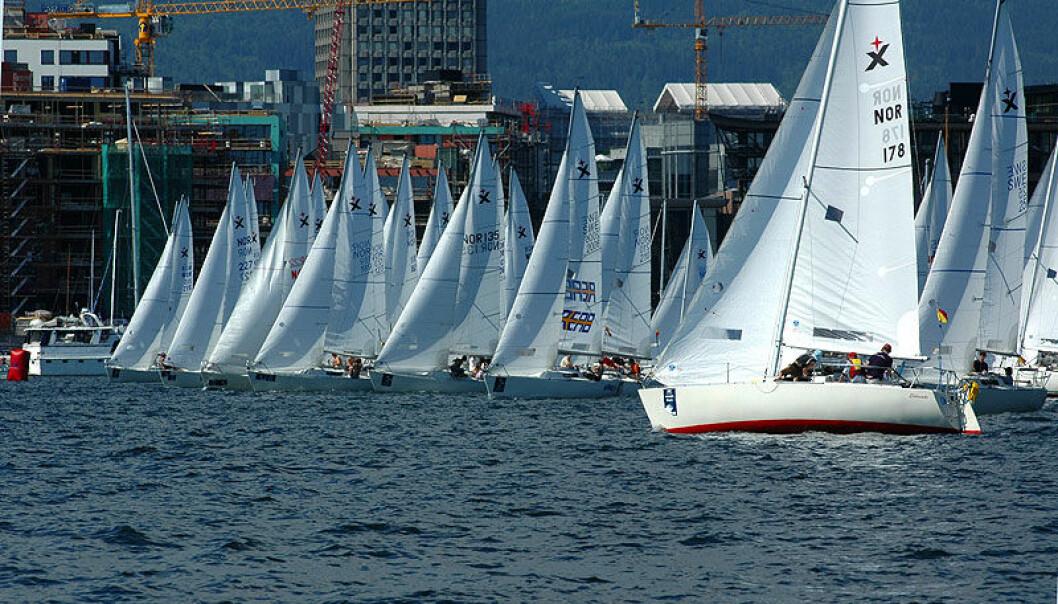STØRST: Expressklassen er svært populær, men båten kan også brukes for enkel turseiling.