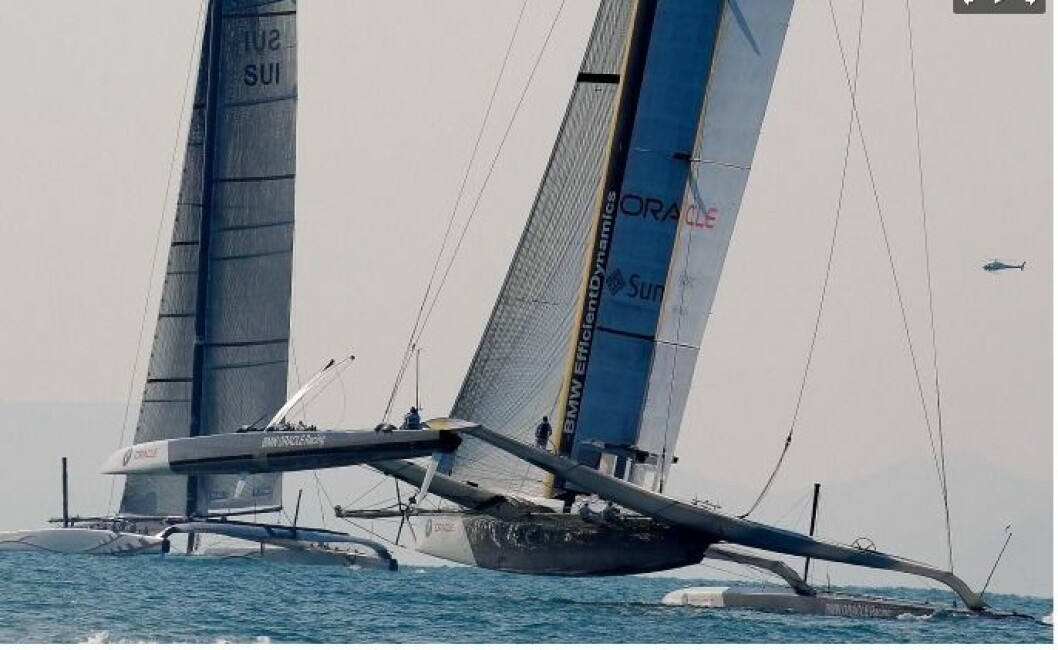 America's Cup endrer kurs