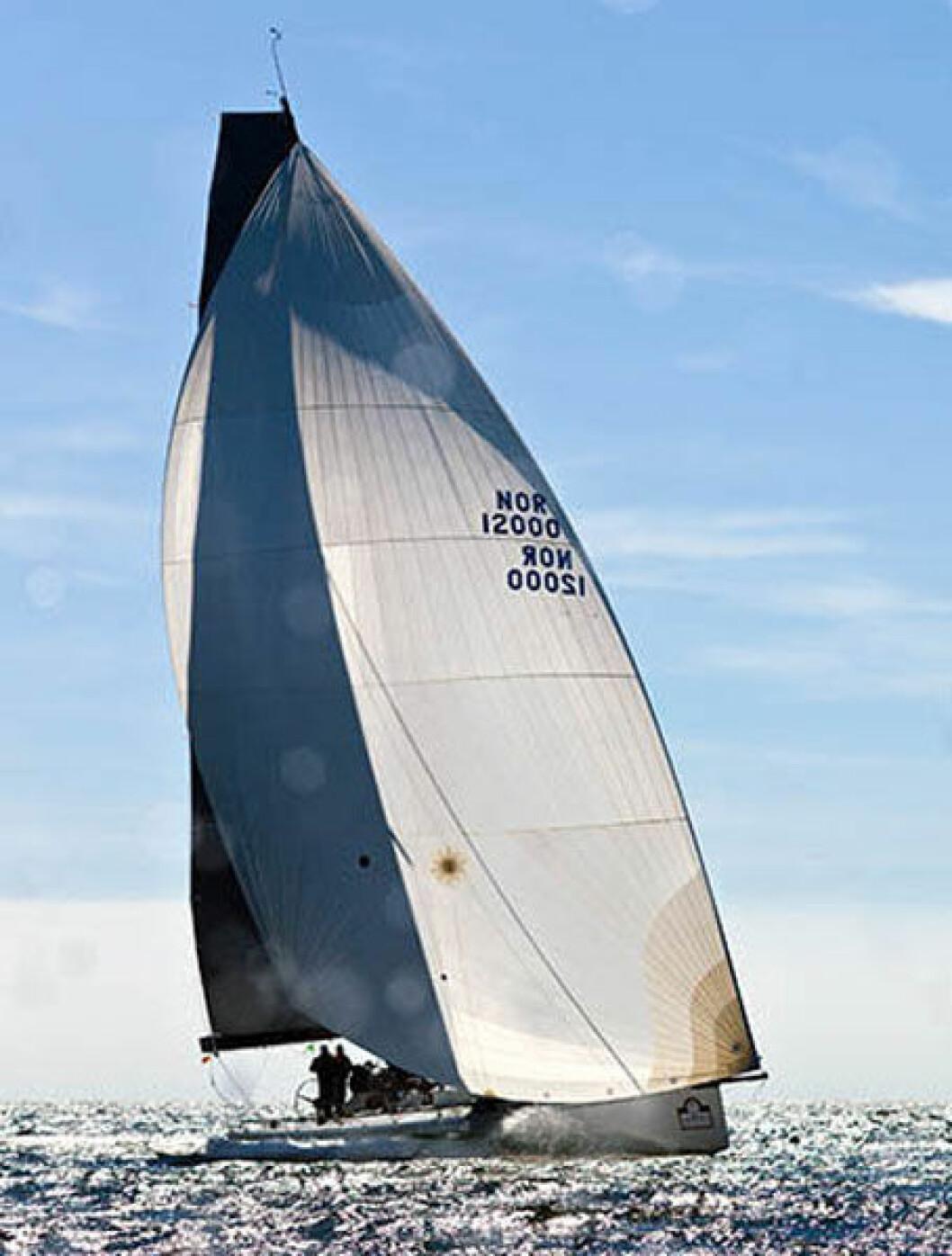 Rekordjakt i Fjordsailing Shetland Race