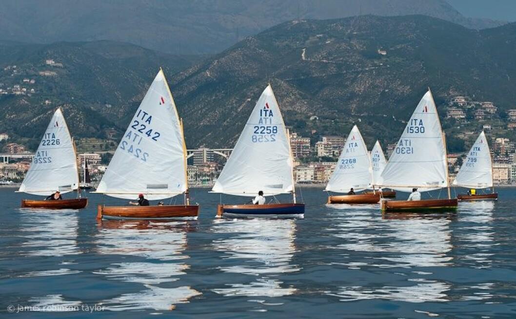 Klassiske seiljoller i Italia