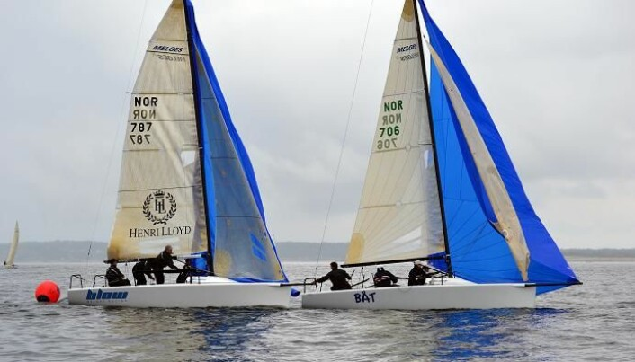 Stemningen på topp under Hankø Race Week