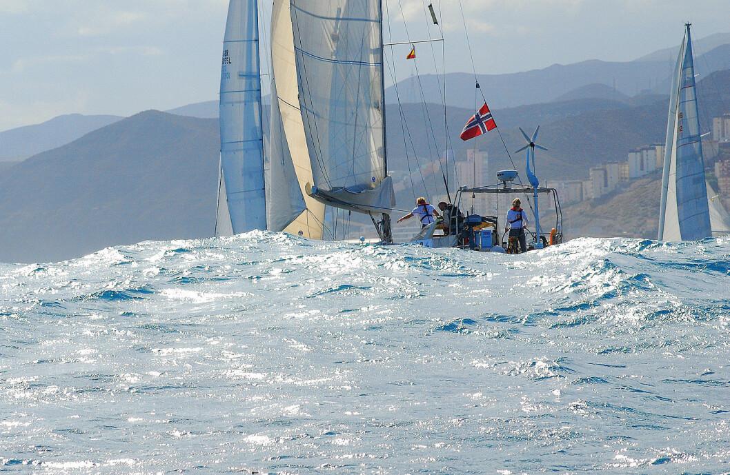 START: ARC+ starter på søndag. Første etappe går fra Grand Canaria til Kapp Verde.