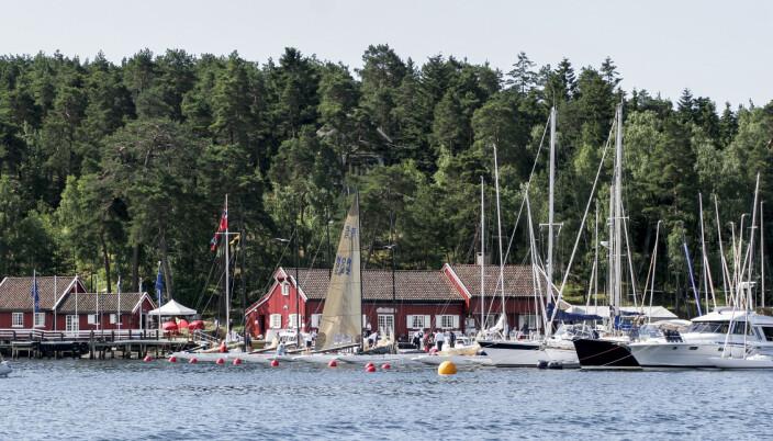 HANKØ YACHT CLUB: Hankø Yacht Club som ble stiftet på 1950-tallet er base for KTK jubileet.