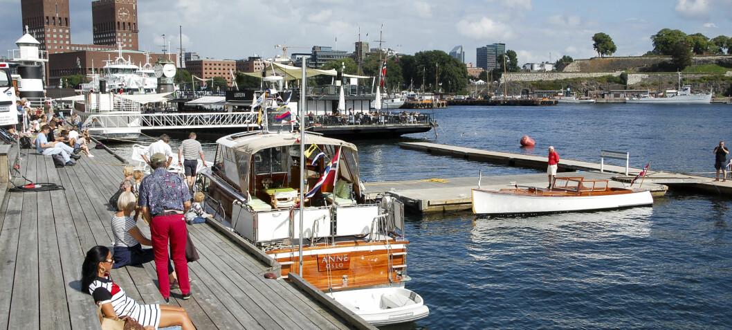 Halvhjertet trebåtfestival i Oslo