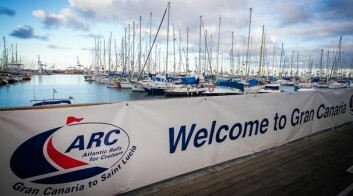 HAVN: Havna i Las Palmas er nå full av båter klare for å krysse Atlanterhavet.