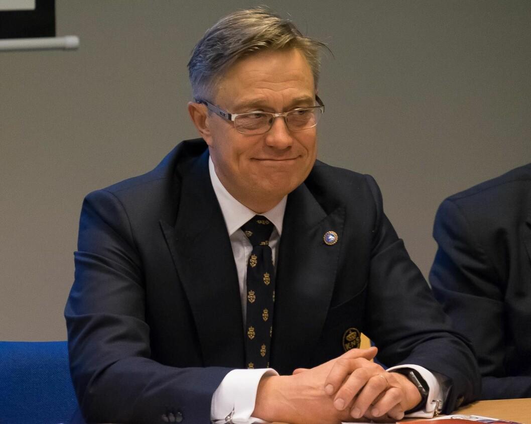 NY LEDER: Karl-Christian Agerup ble valgt til ny leder av KNS på foreningens årsmøte 8. desember 2016.