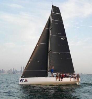 SEILER: Melges 40 kan bli det nye store. Båten er nå på vannet i Dubai.