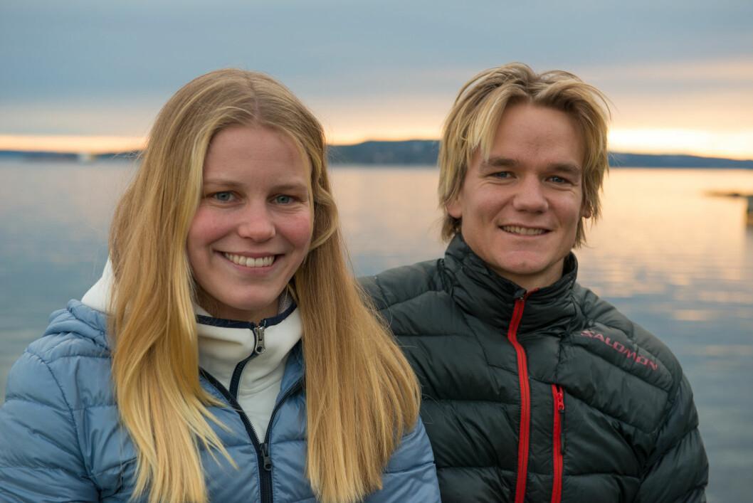 VERDENSCUP: Maria Mollestad og Sebastian Wang-Hansen er to av ialt ni norske seilere som stiller til start i verdenscupen i Miami.