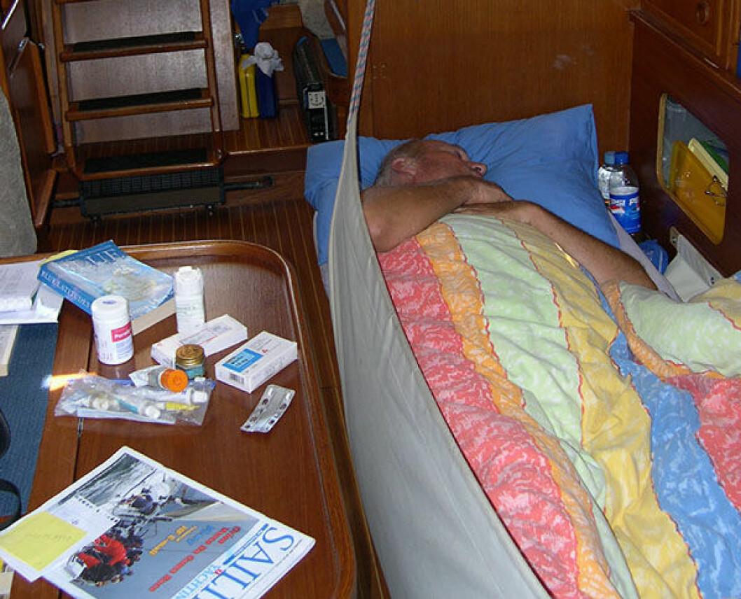 Prolaps underveis ble kritisk med bare to ombord