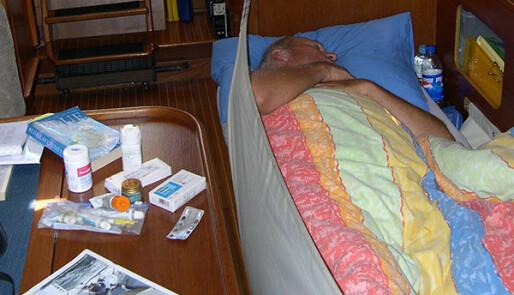 Uhell og sykdom om bord