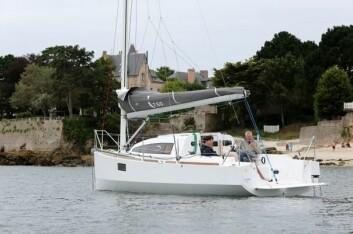 Konstruktøren sier at båten er svært lettseilt