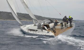 MODERNE: Målet for det nye verftet har vært å bygge en båt for å krysse Atlanterhavet. Planen er å ha en egen klasse under ARC med 11 like båter til høsten.
