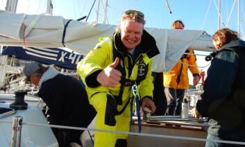 REGATTA: Humoristen Alex Rosen deltar i Skagen Race med egen båt.
