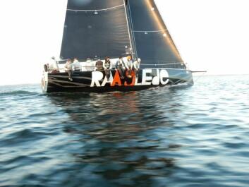 RASEST: «Raa Glede» var raskest til Skagen, men har også det høyeste måletallet.