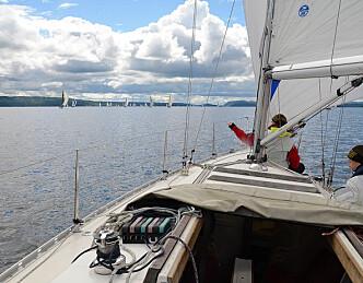 Herlig seiling, Oslofjorden Rundt