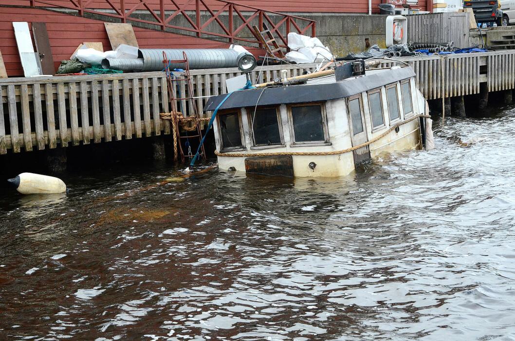 VRAK: Gamle båter er blitt et voksende problem langs kysten. Her et arkivbilde fra Moss.