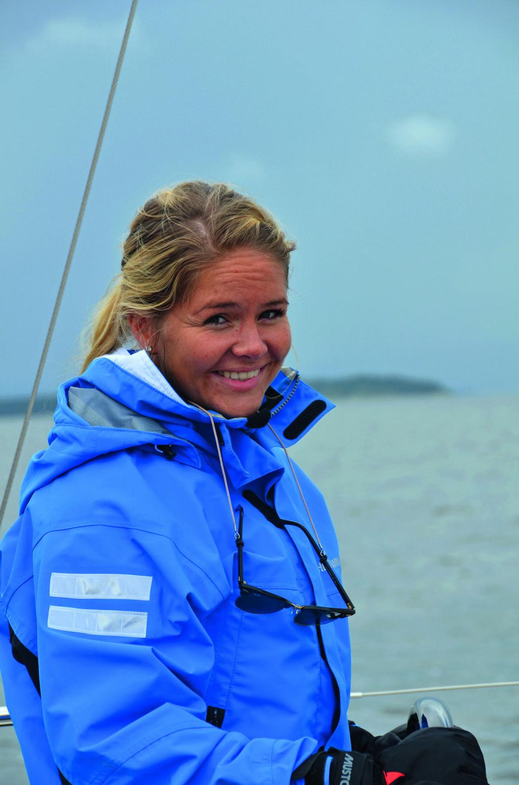 GODT VÆR: Været har avgjort betydning for lysten til å kjøpe seilbåt, mener Oda Heitmann.