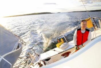 SATSER: Rune Aasberg satser på på å få seilt mange timer med «Solo2« denne sesongen.