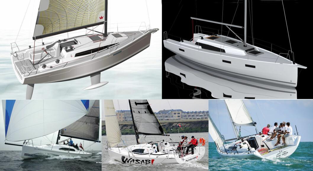 RASKE: Utvalget 33-34 fotere for tur og regatta begynner å bli bra.