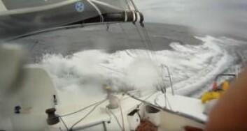 RASKT: Også på etappen hjem ble det hastigheter med to desimaler for de raskeste båtene.