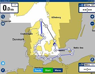 Danmark rundt solo i tøft vær